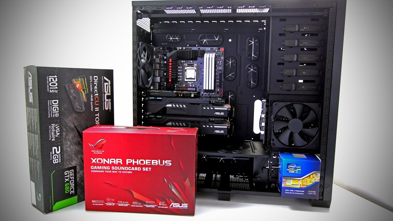 Beginners Guide to PC Gaming, Build your First PC